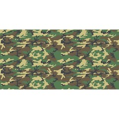 Camo Woodland You Are Invited 3d Greeting Card (8x4)