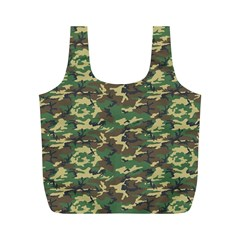 CAMO WOODLAND Full Print Recycle Bags (M)