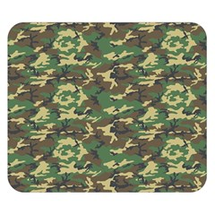 CAMO WOODLAND Double Sided Flano Blanket (Small)
