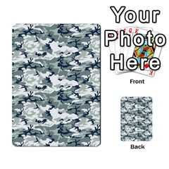 Camo Urban Multi Purpose Cards (rectangle)