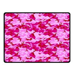 Camo Pink Fleece Blanket (small)