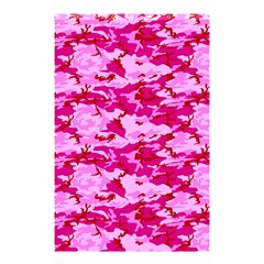 CAMO PINK Shower Curtain 48  x 72  (Small)