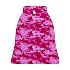 Camo Pink Bell Ornament (2 Sides)