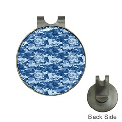 CAMO NAVY Hat Clips with Golf Markers