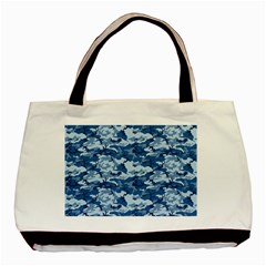 CAMO NAVY Basic Tote Bag (Two Sides)
