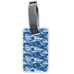 CAMO NAVY Luggage Tags (One Side)