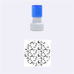 CAMO NAVY Rubber Round Stamps (Small)