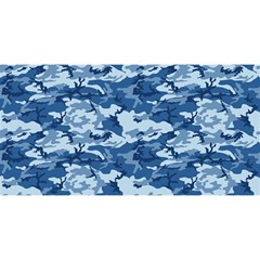 Camo Navy You Are Invited 3d Greeting Card (8x4)