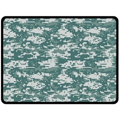 CAMO DIGITAL URBAN Double Sided Fleece Blanket (Large)