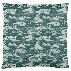 CAMO DIGITAL URBAN Large Flano Cushion Cases (One Side)