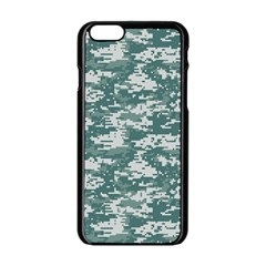 CAMO DIGITAL URBAN Apple iPhone 6/6S Black Enamel Case