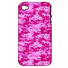 CAMO DIGITAL PINK Apple iPhone 4/4S Hardshell Case (PC+Silicone)
