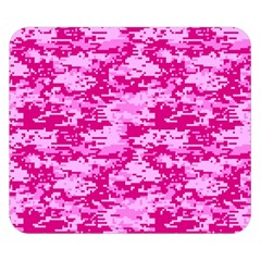 CAMO DIGITAL PINK Double Sided Flano Blanket (Small)