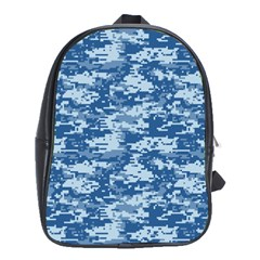 CAMO DIGITAL NAVY School Bags (XL)