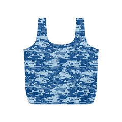 CAMO DIGITAL NAVY Full Print Recycle Bags (S)