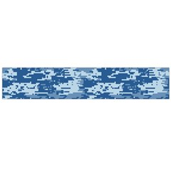 CAMO DIGITAL NAVY Flano Scarf (Large)
