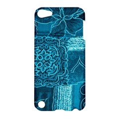 BLUE PATCHWORK Apple iPod Touch 5 Hardshell Case
