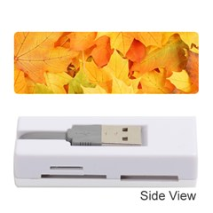 YELLOW MAPLE LEAVES Memory Card Reader (Stick)