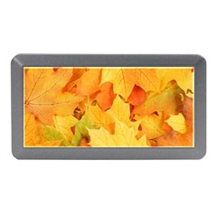 Yellow Maple Leaves Memory Card Reader (mini)