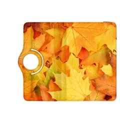 YELLOW MAPLE LEAVES Kindle Fire HDX 8.9  Flip 360 Case