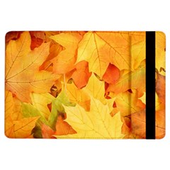 YELLOW MAPLE LEAVES iPad Air Flip