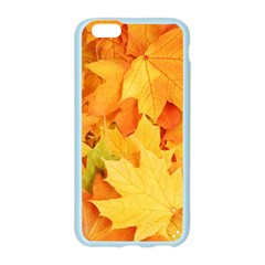 YELLOW MAPLE LEAVES Apple Seamless iPhone 6/6S Case (Color)