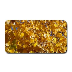 YELLOW LEAVES Medium Bar Mats