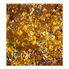 YELLOW LEAVES Shower Curtain 66  x 72  (Large)