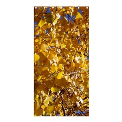 YELLOW LEAVES Shower Curtain 36  x 72  (Stall)