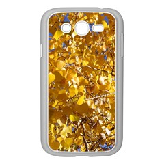 YELLOW LEAVES Samsung Galaxy Grand DUOS I9082 Case (White)
