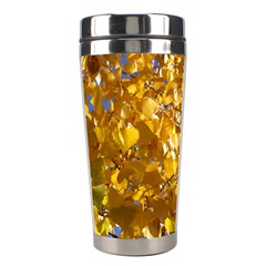 YELLOW LEAVES Stainless Steel Travel Tumblers
