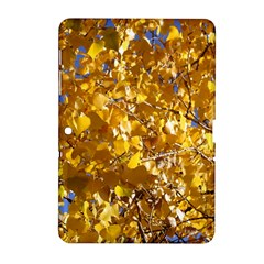 YELLOW LEAVES Samsung Galaxy Tab 2 (10.1 ) P5100 Hardshell Case
