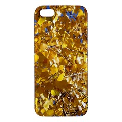 YELLOW LEAVES iPhone 5S Premium Hardshell Case