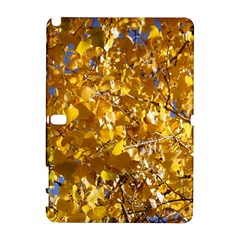 YELLOW LEAVES Samsung Galaxy Note 10.1 (P600) Hardshell Case