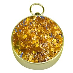 YELLOW LEAVES Gold Compasses