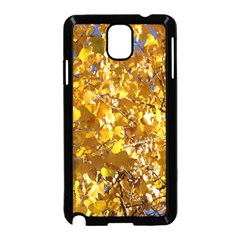 YELLOW LEAVES Samsung Galaxy Note 3 Neo Hardshell Case (Black)