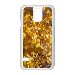 YELLOW LEAVES Samsung Galaxy S5 Case (White)