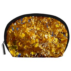 YELLOW LEAVES Accessory Pouches (Large)