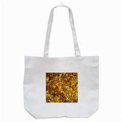YELLOW LEAVES Tote Bag (White)