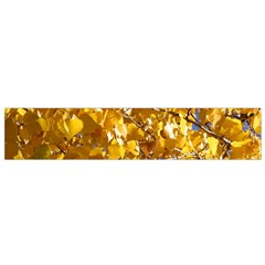 YELLOW LEAVES Flano Scarf (Small)