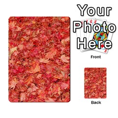 Red Maple Leaves Multi Purpose Cards (rectangle)