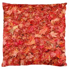 RED MAPLE LEAVES Large Cushion Cases (Two Sides)