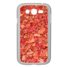 RED MAPLE LEAVES Samsung Galaxy Grand DUOS I9082 Case (White)