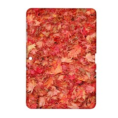 RED MAPLE LEAVES Samsung Galaxy Tab 2 (10.1 ) P5100 Hardshell Case