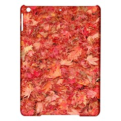 RED MAPLE LEAVES iPad Air Hardshell Cases