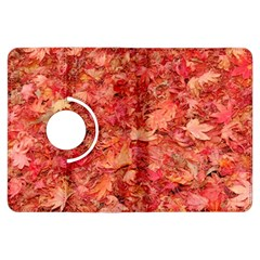 RED MAPLE LEAVES Kindle Fire HDX Flip 360 Case