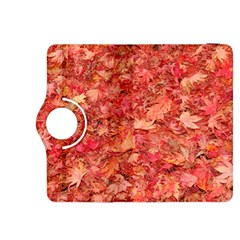 RED MAPLE LEAVES Kindle Fire HDX 8.9  Flip 360 Case
