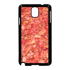 RED MAPLE LEAVES Samsung Galaxy Note 3 Neo Hardshell Case (Black)
