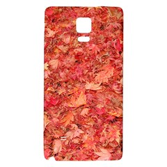 RED MAPLE LEAVES Galaxy Note 4 Back Case