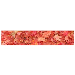 RED MAPLE LEAVES Flano Scarf (Small)